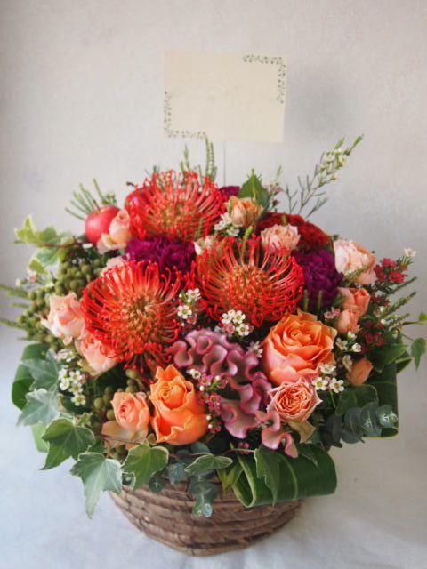 花ギフト|フラワーギフト|誕生日 花|カノシェ話題|スタンド花|ウエディングブーケ|花束|花屋|51508