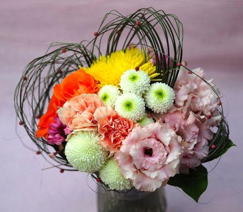 花ギフト|フラワーギフト|誕生日 花|カノシェ話題|スタンド花|ウエディングブーケ|花束|花屋|PB190683