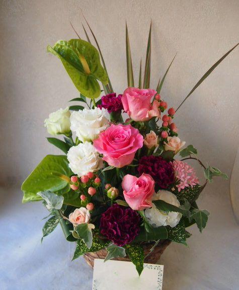 花ギフト|フラワーギフト|誕生日 花|カノシェ話題|スタンド花|ウエディングブーケ|花束|花屋|51685