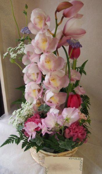 花ギフト|フラワーギフト|誕生日 花|カノシェ話題|スタンド花|ウエディングブーケ|花束|花屋|46025