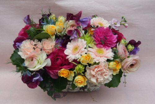 花ギフト|フラワーギフト|誕生日 花|カノシェ話題|スタンド花|ウエディングブーケ|花束|花屋|53004