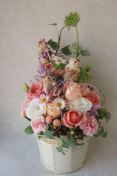 花ギフト|フラワーギフト|誕生日 花|カノシェ話題|スタンド花|ウエディングブーケ|花束|花屋|56056