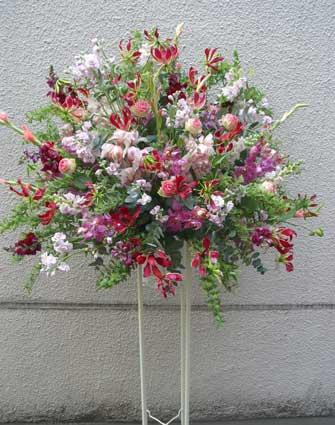 花ギフト|フラワーギフト|誕生日 花|カノシェ話題|スタンド花|ウエディングブーケ|花束|花屋|スタンド5