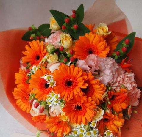 花ギフト|フラワーギフト|誕生日 花|カノシェ話題|スタンド花|ウエディングブーケ|花束|花屋|41601
