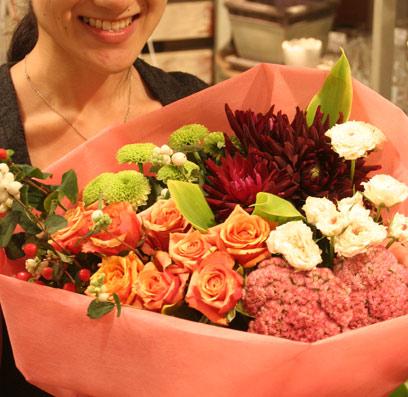 花ギフト|フラワーギフト|誕生日 花|カノシェ話題|スタンド花|ウエディングブーケ|花束|花屋|あっきー