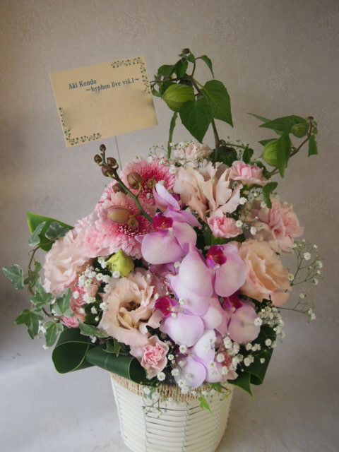 花ギフト|フラワーギフト|誕生日 花|カノシェ話題|スタンド花|ウエディングブーケ|花束|花屋|51725