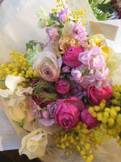 花ギフト|フラワーギフト|誕生日 花|カノシェ話題|スタンド花|ウエディングブーケ|花束|花屋|IMG_9073