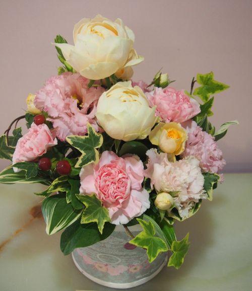 花ギフト|フラワーギフト|誕生日 花|カノシェ話題|スタンド花|ウエディングブーケ|花束|花屋|56156
