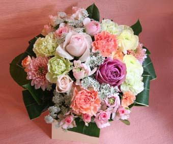 花ギフト フラワーギフト 誕生日 花 カノシェ話題 スタンド花 ウエディングブーケ 花束 花屋 まさみ まあるい