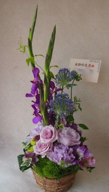 花ギフト|フラワーギフト|誕生日 花|カノシェ話題|スタンド花|ウエディングブーケ|花束|花屋|48578