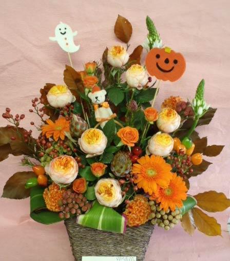 花ギフト|フラワーギフト|誕生日 花|カノシェ話題|スタンド花|ウエディングブーケ|花束|花屋|さやハロウィン