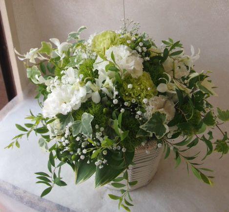 花ギフト|フラワーギフト|誕生日 花|カノシェ話題|スタンド花|ウエディングブーケ|花束|花屋|49339 (2)