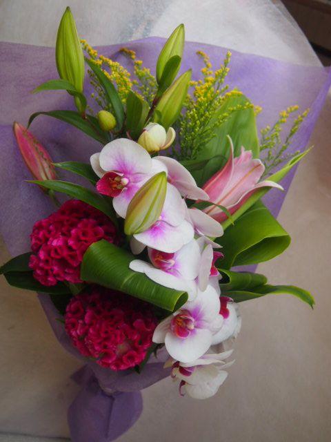 花ギフト|フラワーギフト|誕生日 花|カノシェ話題|スタンド花|ウエディングブーケ|花束|花屋|42784