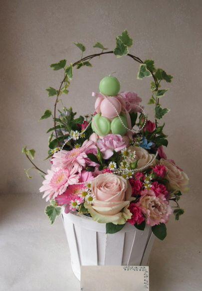 花ギフト|フラワーギフト|誕生日 花|カノシェ話題|スタンド花|ウエディングブーケ|花束|花屋|48585