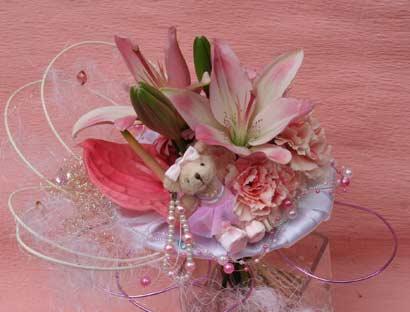 花ギフト フラワーギフト 誕生日 花 カノシェ話題 スタンド花 ウエディングブーケ 花束 花屋 ちか2