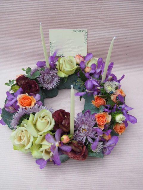 花ギフト|フラワーギフト|誕生日 花|カノシェ話題|スタンド花|ウエディングブーケ|花束|花屋|51673