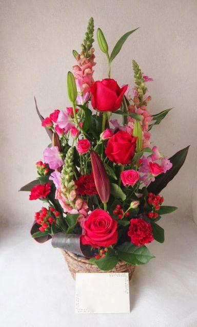 花ギフト|フラワーギフト|誕生日 花|カノシェ話題|スタンド花|ウエディングブーケ|花束|花屋|52981