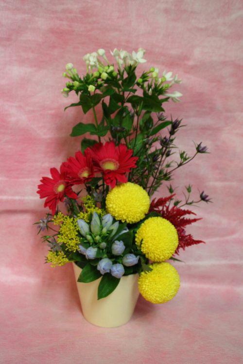 花ギフト|フラワーギフト|誕生日 花|カノシェ話題|スタンド花|ウエディングブーケ|花束|花屋|IMG_9688