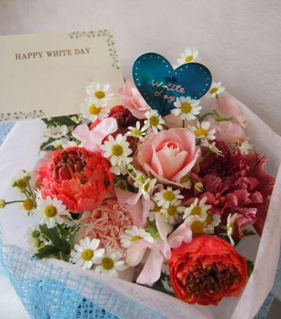 花ギフト|フラワーギフト|誕生日 花|カノシェ話題|スタンド花|ウエディングブーケ|花束|花屋|100154