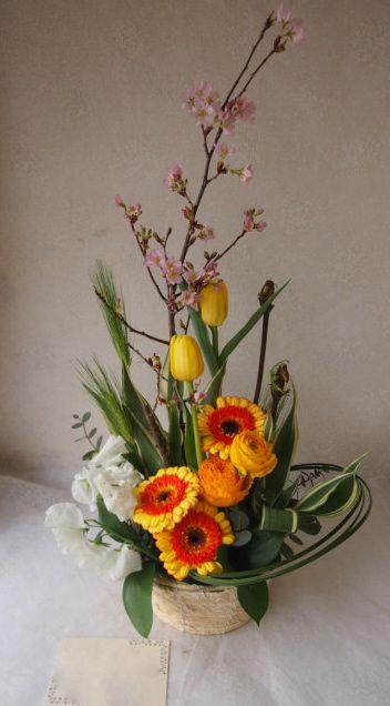 花ギフト|フラワーギフト|誕生日 花|カノシェ話題|スタンド花|ウエディングブーケ|花束|花屋|54344
