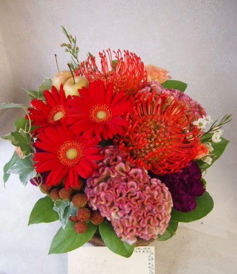花ギフト|フラワーギフト|誕生日 花|カノシェ話題|スタンド花|ウエディングブーケ|花束|花屋|50456
