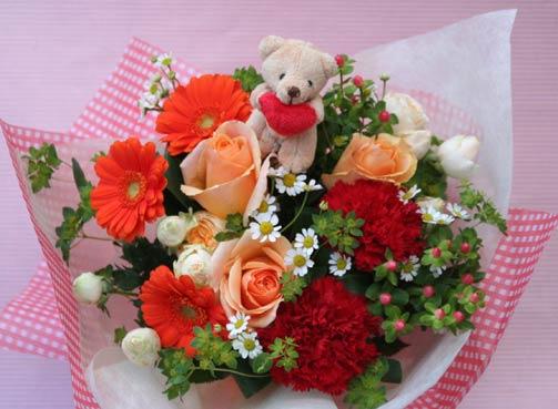 花ギフト|フラワーギフト|誕生日 花|カノシェ話題|スタンド花|ウエディングブーケ|花束|花屋|2015_m_b_2