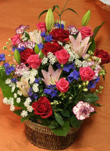 花ギフト フラワーギフト 誕生日 花 カノシェ話題 スタンド花 ウエディングブーケ 花束 花屋 タム