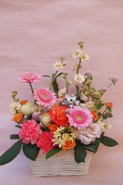 花ギフト|フラワーギフト|誕生日 花|カノシェ話題|スタンド花|ウエディングブーケ|花束|花屋|37078
