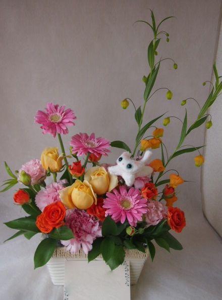 花ギフト|フラワーギフト|誕生日 花|カノシェ話題|スタンド花|ウエディングブーケ|花束|花屋|45647