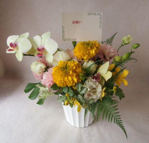 花ギフト|フラワーギフト|誕生日 花|カノシェ話題|スタンド花|ウエディングブーケ|花束|花屋|41636
