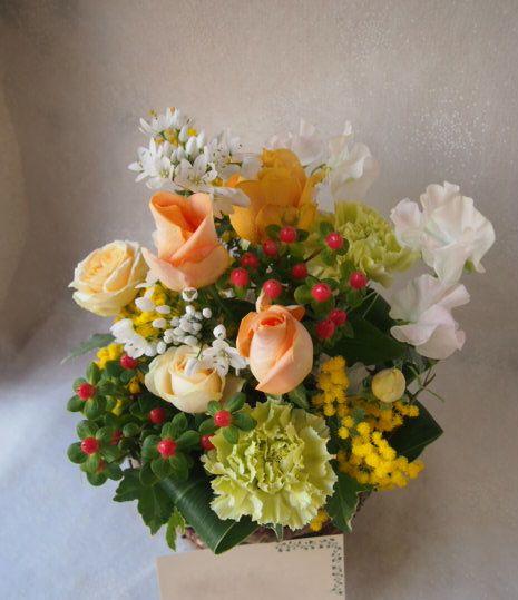 花ギフト|フラワーギフト|誕生日 花|カノシェ話題|スタンド花|ウエディングブーケ|花束|花屋|53361
