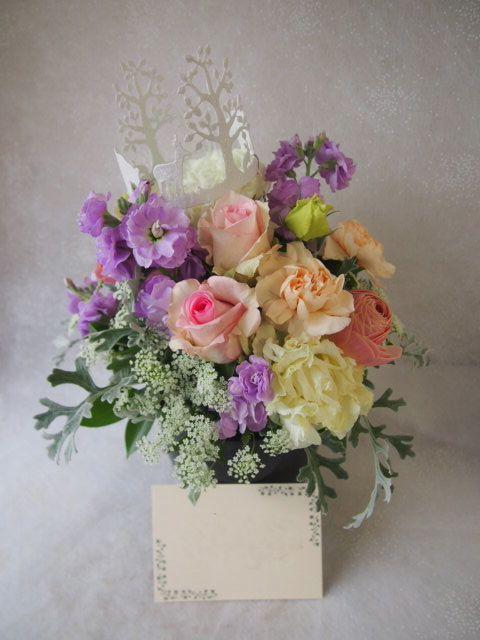 花ギフト|フラワーギフト|誕生日 花|カノシェ話題|スタンド花|ウエディングブーケ|花束|花屋|54372