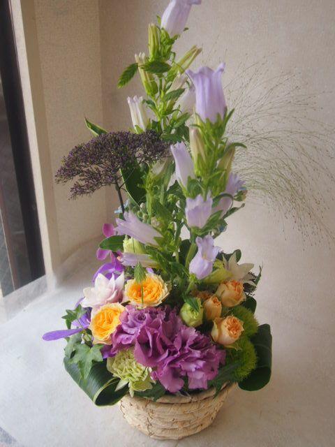 花ギフト|フラワーギフト|誕生日 花|カノシェ話題|スタンド花|ウエディングブーケ|花束|花屋|48425