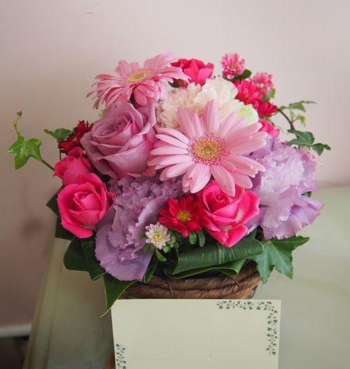 花ギフト|フラワーギフト|誕生日 花|カノシェ話題|スタンド花|ウエディングブーケ|花束|花屋|56863
