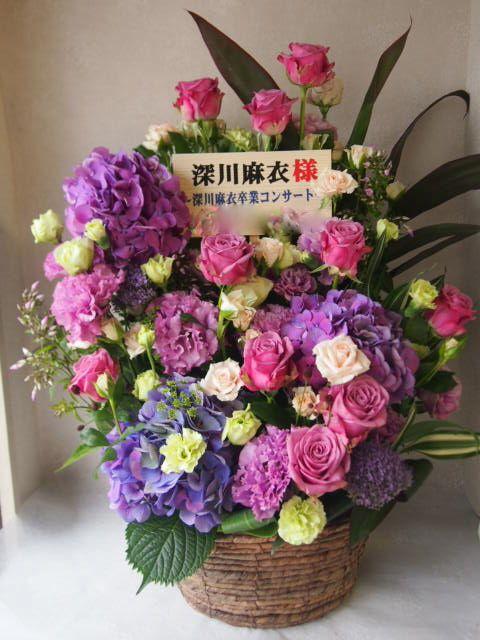 花ギフト|フラワーギフト|誕生日 花|カノシェ話題|スタンド花|ウエディングブーケ|花束|花屋|56454