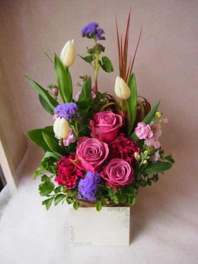 花ギフト|フラワーギフト|誕生日 花|カノシェ話題|スタンド花|ウエディングブーケ|花束|花屋|37971