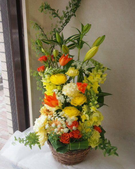 花ギフト|フラワーギフト|誕生日 花|カノシェ話題|スタンド花|ウエディングブーケ|花束|花屋|54118