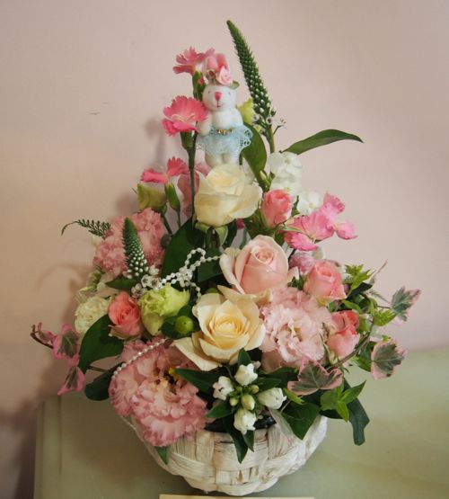 花ギフト|フラワーギフト|誕生日 花|カノシェ話題|スタンド花|ウエディングブーケ|花束|花屋|57255