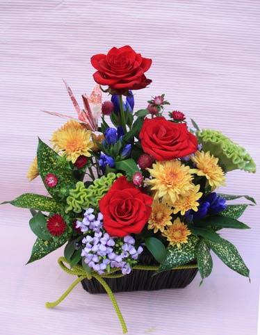 花ギフト|フラワーギフト|誕生日 花|カノシェ話題|スタンド花|ウエディングブーケ|花束|花屋|2015_keiro_a_1
