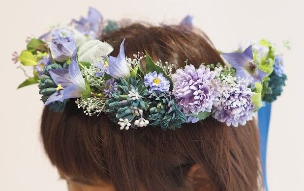 花ギフト|フラワーギフト|誕生日 花|カノシェ話題|スタンド花|ウエディングブーケ|花束|花屋|sep_kanmuri2