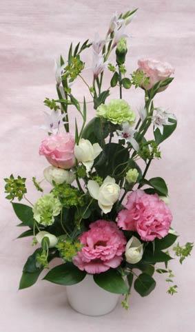 花ギフト フラワーギフト 誕生日 花 カノシェ話題 スタンド花 ウエディングブーケ 花束 花屋 suzukisan