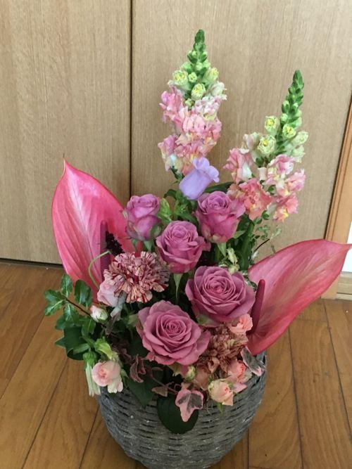 花ギフト|フラワーギフト|誕生日 花|カノシェ話題|スタンド花|ウエディングブーケ|花束|花屋|IMG_0997