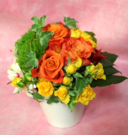 花ギフト|フラワーギフト|誕生日 花|カノシェ話題|スタンド花|ウエディングブーケ|花束|花屋|IMG_9684
