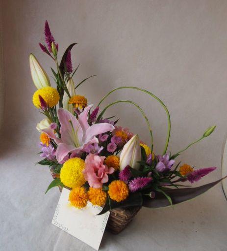 花ギフト|フラワーギフト|誕生日 花|カノシェ話題|スタンド花|ウエディングブーケ|花束|花屋|42818