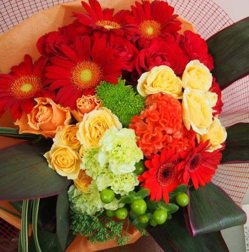 花ギフト|フラワーギフト|誕生日 花|カノシェ話題|スタンド花|ウエディングブーケ|花束|花屋|56674