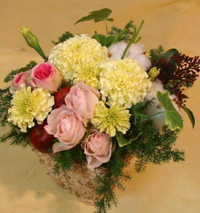 花ギフト フラワーギフト 誕生日 花 カノシェ話題 スタンド花 ウエディングブーケ 花束 花屋 るるる