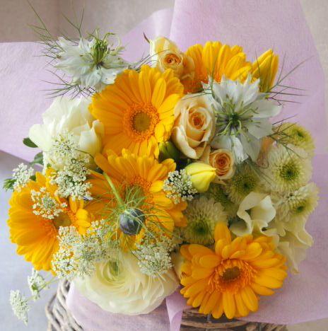 花ギフト|フラワーギフト|誕生日 花|カノシェ話題|スタンド花|ウエディングブーケ|花束|花屋|53838
