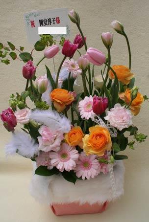 花ギフト|フラワーギフト|誕生日 花|カノシェ話題|スタンド花|ウエディングブーケ|花束|花屋|フェミニン大