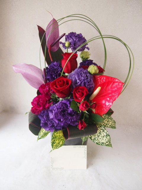花ギフト|フラワーギフト|誕生日 花|カノシェ話題|スタンド花|ウエディングブーケ|花束|花屋|51866