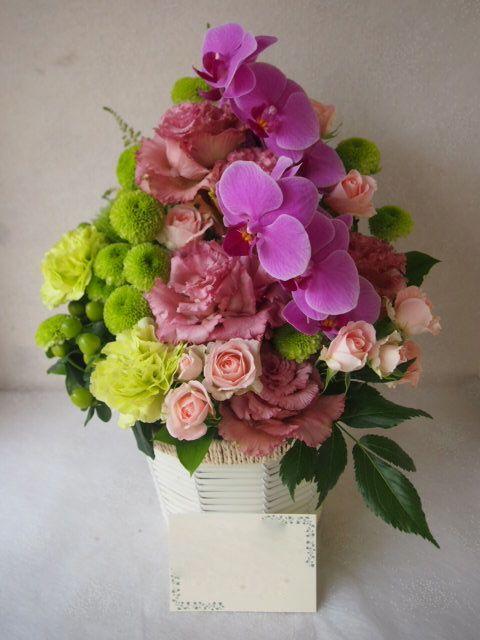 花ギフト|フラワーギフト|誕生日 花|カノシェ話題|スタンド花|ウエディングブーケ|花束|花屋|56052